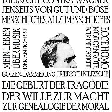 Nietzsche works by silentstead