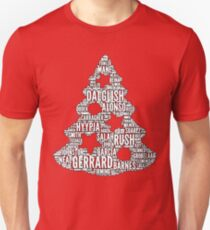 XMAS - Liverpool Christmas Tree Slim Fit T-Shirt