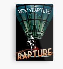 BioShock New Year's in Rapture Metal Print