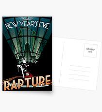 BioShock New Year's in Rapture Postcards
