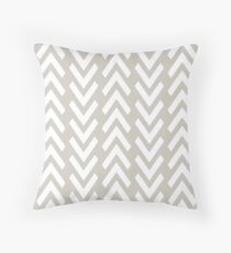 Chevron Ups & Downs Throw Pillow