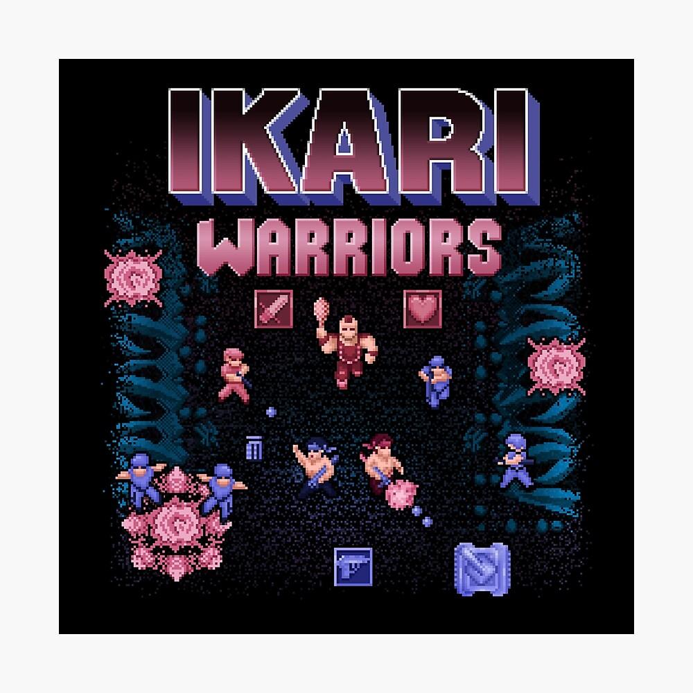 Warriors Ikari Photographic Print