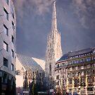 St Stephan's Cathedral - Vienna Austria by Yukondick