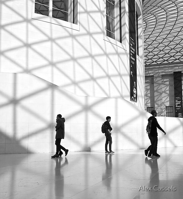 The Great Court at the British Museum by Alex Cassels