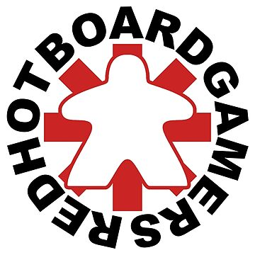 Red Hot Board Gamers by HeartBoardGames