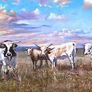 """Kefford's Cattle II"" by Lynda Robinson"