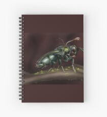 """""""Infested"""" Spiral Notebook"""