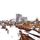 Tropicana Avenue - Las Vegas by John Schneider