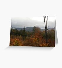 Foothills of Kearsarge Greeting Card