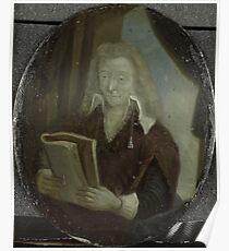 Painting - Portrait of Jan Six, Poet and Burgomaster of Amsterdam, Arnoud van Halen, 1700 - 1732  Poster