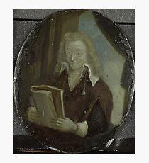 Painting - Portrait of Jan Six, Poet and Burgomaster of Amsterdam, Arnoud van Halen, 1700 - 1732  Photographic Print