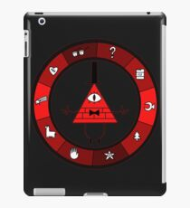 Red Bill Cipher Wheel iPad Case/Skin