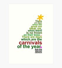 Carnivals Art Print