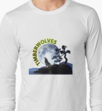 Timberwolves Collectors T-shirts and Stickers Long Sleeve T-Shirt
