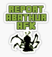 Heroes of the AFK Abathur Sticker