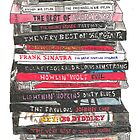 Stack of CD's  by Mariana Santos