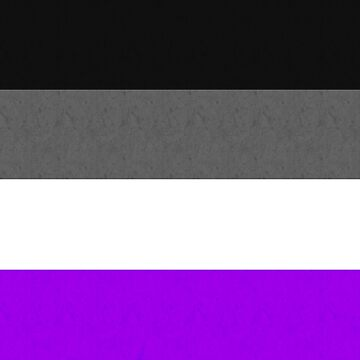 Asexual pride flag by bookbrd
