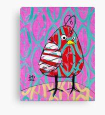 Gum Drop Bird Canvas Print