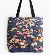 Bustling Sidewalk Tote Bag