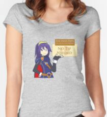 Time to Tip The Scales Women's Fitted Scoop T-Shirt