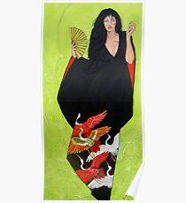 In Her Kimono Poster