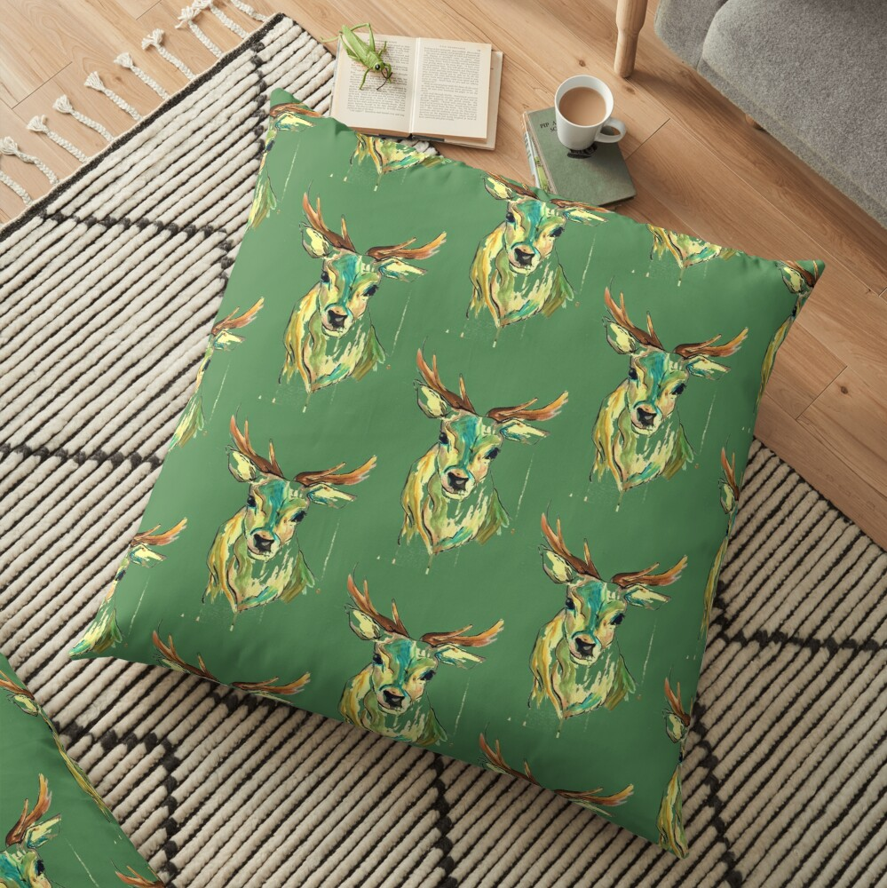 Colour stag Floor Pillow