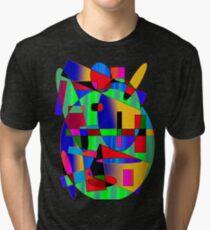 GEOMIX BUNT Tri-blend T-Shirt