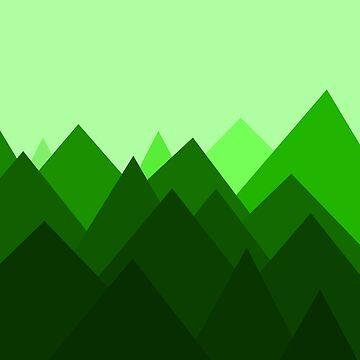 Bosque abstracto de DanaAndTheBooks