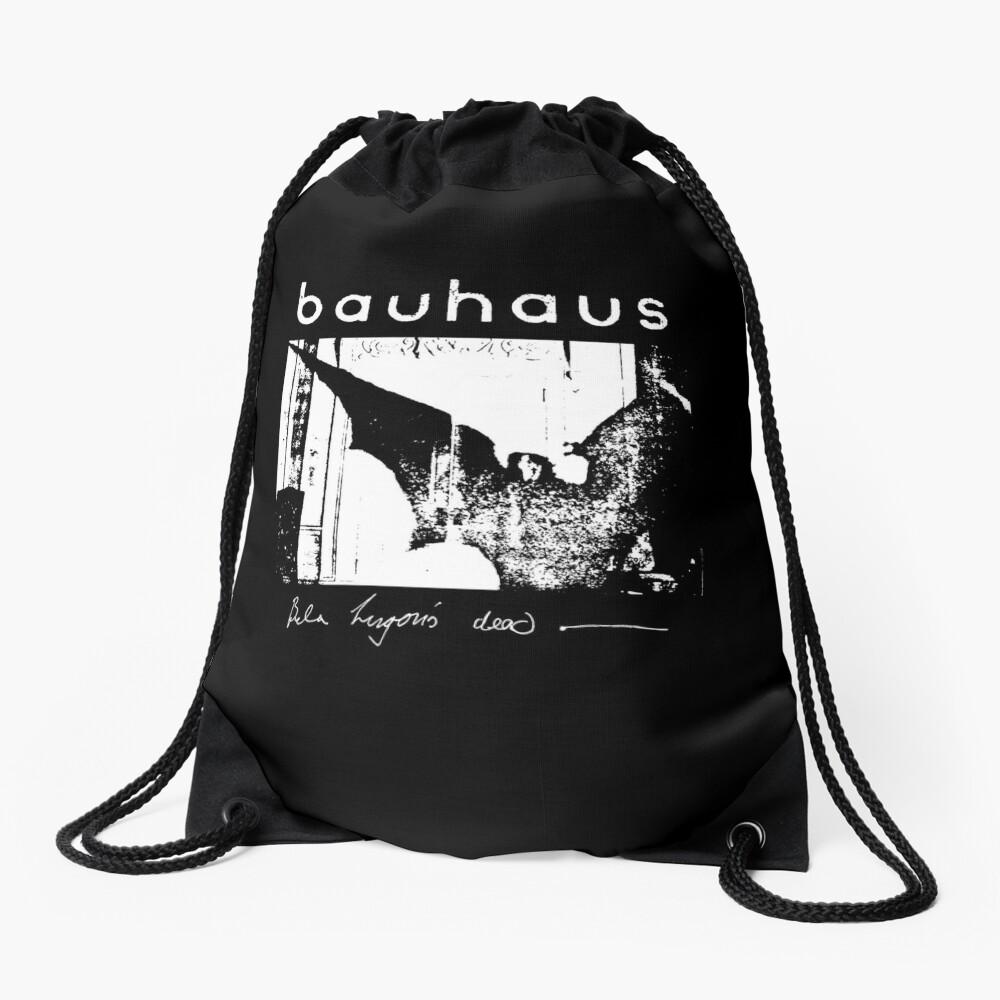Bauhaus - Bat Wings - Bela Lugosi's Dead Drawstring Bag