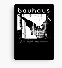 Bauhaus - Bat Wings - Bela Lugosi's Dead Canvas Print
