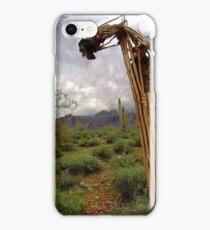 Bent Over Backwards iPhone Case/Skin