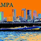 Tampa in winter by David Lee Thompson