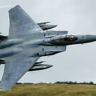 F15c flying through the Mach Loop in Wales 2018 by PhilEAF92