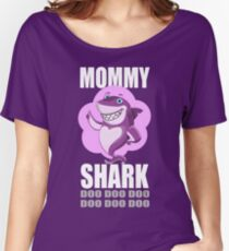 Mommy Shark Relaxed Fit T-Shirt