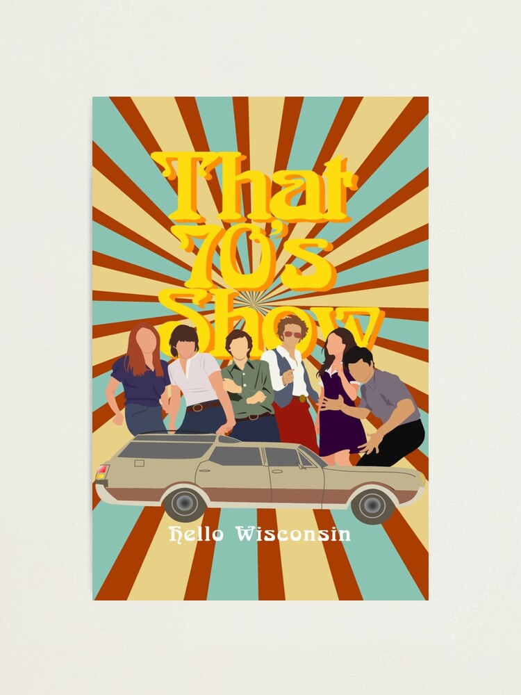 Alternate view of That 70s Show Photographic Print