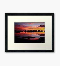 Reflecting Paradise Framed Print