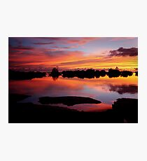 Reflecting Paradise Photographic Print
