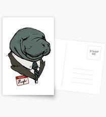 Hugh Manatee Postcards