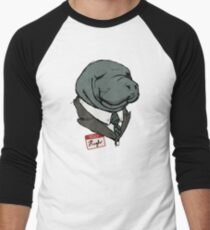 Hugh Manatee Men's Baseball ¾ T-Shirt