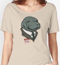 Hugh Manatee Women's Relaxed Fit T-Shirt