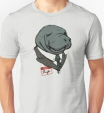 Hugh Manatee Unisex T-Shirt