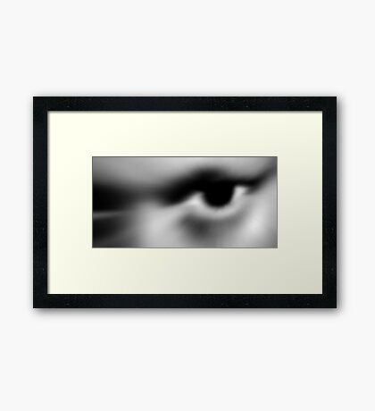 Alien Caught On Film Framed Print