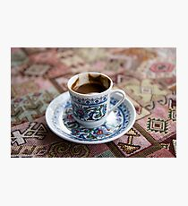 Tasty, thick, potent Turkish coffee Photographic Print