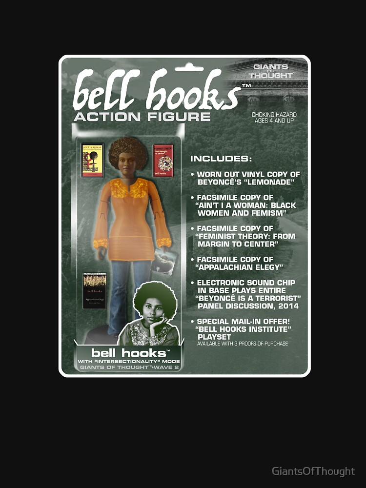 Bell Hooks Action Figure by GiantsOfThought