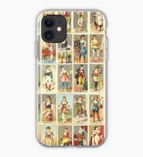 Occupations for Women Series Trading Cards Massive collage iPhone Case