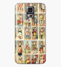 Occupations for Women Series Trading Cards Massive collage Case/Skin for Samsung Galaxy