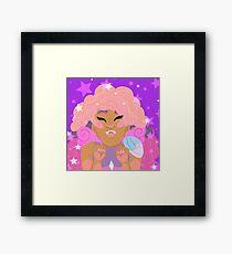 glimmer girl Framed Print