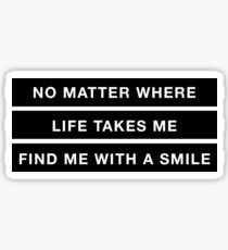 life couldn't be better Sticker