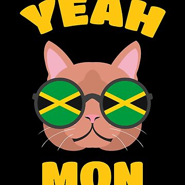 Yeah Mon - Funny Jamaican Shirts And Gifts by SQWEAR