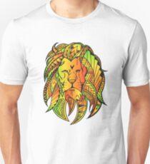 Rastafari und Polynesier inspirierten Löwenmähne Unisex T-Shirt